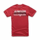 T-SHIRT ALPINESTARS  BRAVO ROUGE 2019 tee shirt