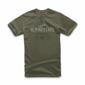 T-SHIRT ALPINESTARS  TRIBUTE MILITARY 2019 tee shirt
