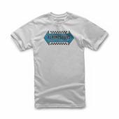 T-SHIRT ALPINESTARS  OPPOSITE SILVER 2019 tee shirt