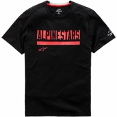T-SHIRT ALPINESTARS  STATED RIDE DRY  NOIR 2019 tee shirt