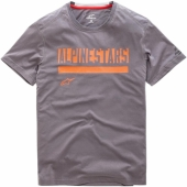 T-SHIRT ALPINESTARS  STATED RIDE DRY CHARCOAL 2019 tee shirt