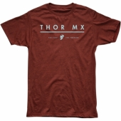 TEE SHIRT THOR MX S9 BRIQUE 2019 tee shirt