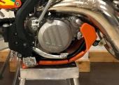 Sabot enduro AXP Xtrem PHD ORANGE KTM 125 SX 2019 sabots axp