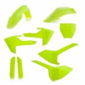 KIT PLASTIQUE FULL ACERBIS JAUNE FLUO HUSQVARNA TC/FC 2016-2018 kit plastiques acerbis