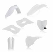 KIT PLASTIQUE FULL ACERBIS BLANC HUSQVARNA 85 TC 2014-2017 kit plastiques acerbis