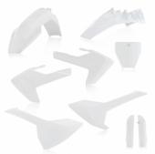 KIT PLASTIQUE FULL ACERBIS BLANC HUSQVARNA 85 TC 2018 kit plastiques acerbis