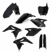 KIT PLASTIQUE FULL ACERBIS NOIR SUZUKI 250 RM-Z 2010-2017 kit plastiques acerbis