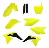 KIT PLASTIQUE FULL ACERBIS JAUNE FLUO SUZUKI 250 RM-Z 2018 kit plastiques acerbis