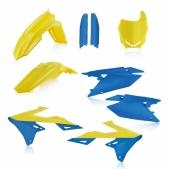 KIT PLASTIQUE FULL ACERBIS JAUNE/BLEU SUZUKI 450 RM-Z 2018 kit plastiques acerbis