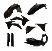 KIT PLASTIQUE FULL ACERBIS NOIR  KTM EX-C/EXC-F 2012-2013 kit plastiques acerbis