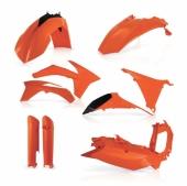 KIT PLASTIQUE FULL ACERBIS ORANGE  KTM EX-C/EXC-F 2012-2013 kit plastiques acerbis