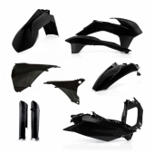 KIT PLASTIQUE FULL ACERBIS NOIR KTM EX-C/EXC-F 2014-2015 kit plastiques acerbis