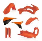 KIT PLASTIQUE FULL ACERBIS ORANGE  KTM EX-C/EXC-F 2014-2015 kit plastiques acerbis
