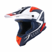 Casque KENNY Trophy BLANC / ROUGE / NAVY  2019 casques