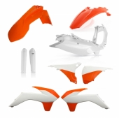 KIT PLASTIQUE FULL ACERBIS KTM EX-C/EXC-F 2016 kit plastiques acerbis