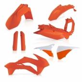 KIT PLASTIQUE FULL ACERBIS ORANGE KTM EX-C/EXC-F 2016 kit plastiques acerbis
