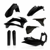 KIT PLASTIQUE FULL ACERBIS NOIR KTM EX-C/EXC-F 2016 kit plastiques acerbis