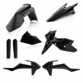 KIT PLASTIQUE FULL ACERBIS NOIR KTM EX-C/EXC-F 2017-2018 kit plastiques acerbis