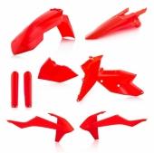KIT PLASTIQUE FULL ACERBIS ORANGE FLUO KTM EX-C/EXC-F 2017-2018 kit plastiques acerbis