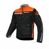 VESTE ENDURO KENNY SOFTSHELL NOIR/ORANGE NEON 2019 vestes