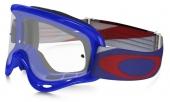 LUNETTE CROSS OAKLEY  XS O Frame Heritage Racer bleu écran transparent lunettes