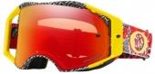 LUNETTE CROSS OAKLEY irbrake Dazzle Dyno ROUGE/JAUNE écran Prizm MX Torch  lunettes