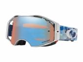 LUNETTE CROSS OAKLEY Airbrake Eli Tomac Digi Camo Blue écran Prizm Sapphire lunettes