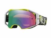 LUNETTE CROSS OAKLEY Airbrake Eli Tomac Signature Series écran Prizm MX Jade lunettes