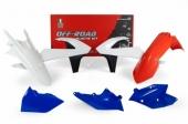 Kit plastique RACETECH couleur origine Six Days KTM 250 EX-C 2017-2018 kit plastiques racetech