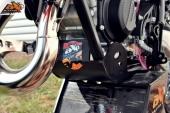 Sabot Gp noir  AXP  PHD KTM 150 SX 2016-2019 sabots axp