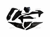 Kit plastiques UFO NOIR KTM 125 SX 2019 kit plastiques ufo