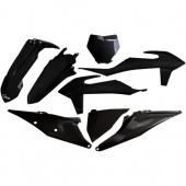Kit plastiques UFO NOIR KTM 250 SX 2019 kit plastiques ufo
