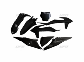 Kit plastiques UFO NOIR KTM 350 SX-F 2019 kit plastiques ufo
