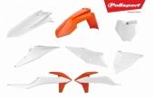 Kit plastiques POLISPORT couleur origine KTM 125 SX 2019 plastique polisport