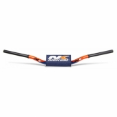 GUIDON NEKEN 85 CC HAUT ORANGE/BLEU diametre 28.6mm guidons