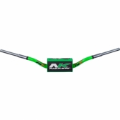 GUIDON CROSS NEKEN SFH K BAR VERT FLUO diametre 28.6mm guidons