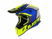 Casque JUST1 J38 Blade Blue/Fluo jaune/nor Gloss  casques