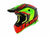 Casque JUST1 J38 Blade rouge/Lime/noir Matt casques