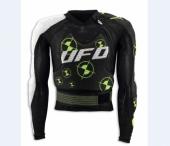 Gilet Enigma UFO blanc/noir/vert  gilets protection