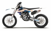 KIT DECO 2D MOST BLANC KTM 65 SX 2002-2019 kit deco