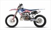 KIT DECO 2D RAGING BIG USA HUSQVARNA 250 TC 2014-2019 kit deco