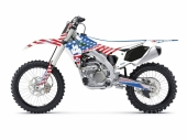 KIT DECO 2D RACING BIG USA KAWASAKI 250 KX-F 2004-2019 kit deco