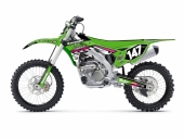 KIT DECO 2D RACING REPLICA KAANOS 2018 KAWASAKI 250 KX-F 2004-2019 kit deco