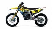 KIT DECO 2D RACING DUM 2019 SUZUKI 450 RM-Z 2005-2019 kit deco