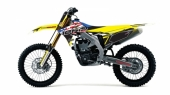 KIT DECO 2D RACING USA SUZUKI 450 RM-Z 2005-2019 kit deco