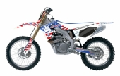 KIT DECO 2D RACING BIG USA SUZUKI 250 RM-Z 2004-2019 kit deco