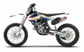 KIT DECO 2D MOST BLANC KTM EX-C SERIES 2001-2019 kit deco