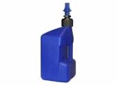 Bidon d'essence TUFF JUG 20L bleu translucide/bouchon bleu - bouchon remplissage rapide outillages