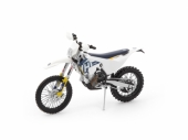 MAQUETTE MOTO CROSS 1:12ème HUSQVARNA 350 FE 2018 maquette moto