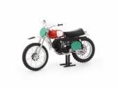 MAQUETTE MOTO CROSS 1:12ème HUSQVARNA 250 1970 maquette moto